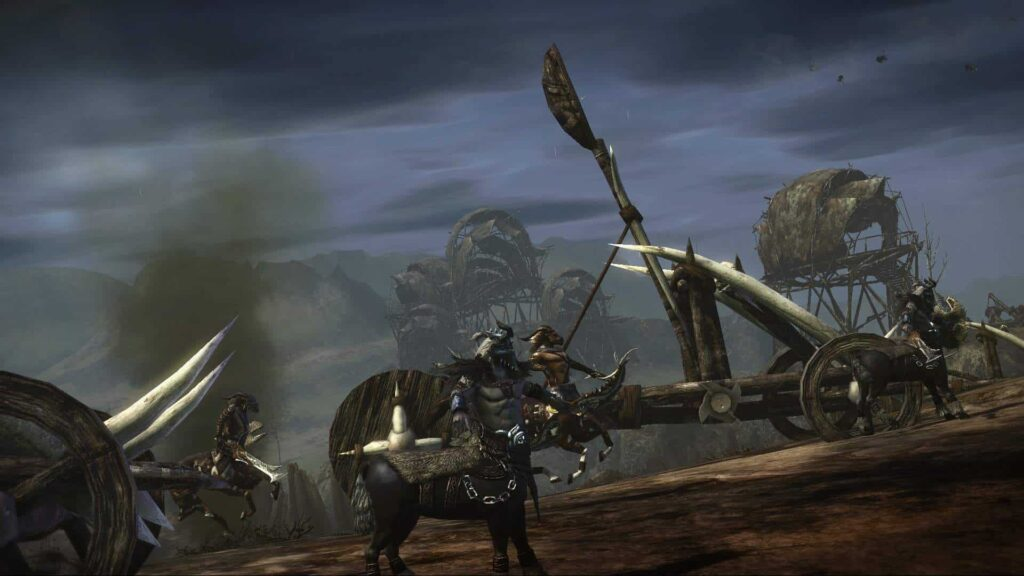 Centaur Catapult Assault
