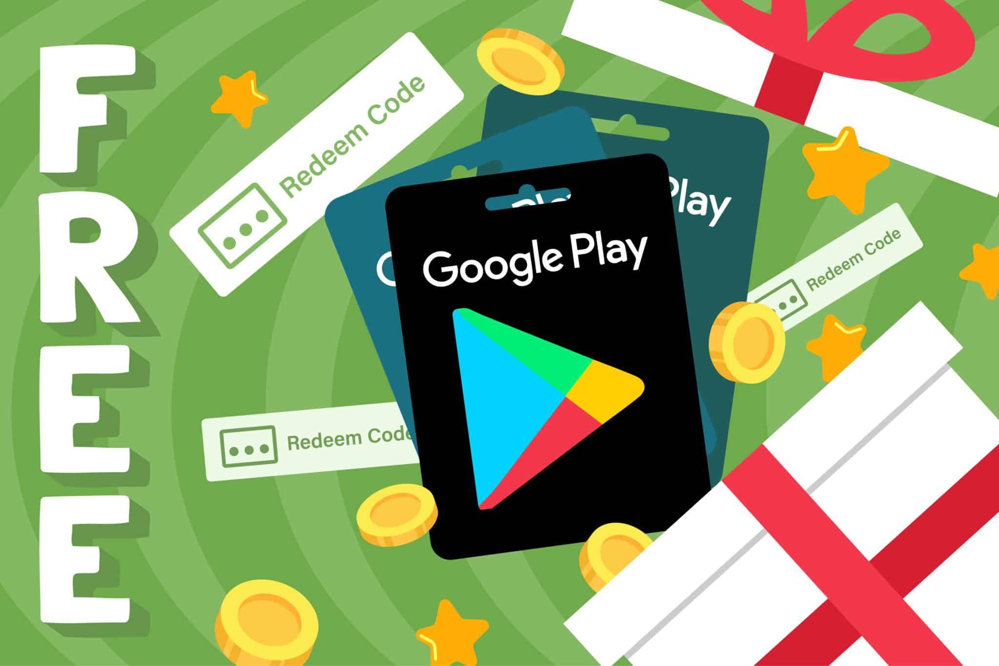 Free Google Play Credit and Codes